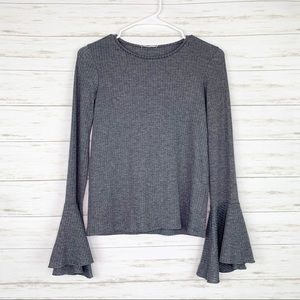 Zara | Flare Sleeve Knit Sweater